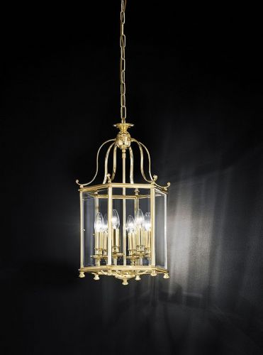 Franklite LA7006/6 Polished Brass Pendant Light